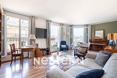 A vendre - Appartement familial en duplex - 4 pieces de 92 m2 - Paris 17e Batignolles