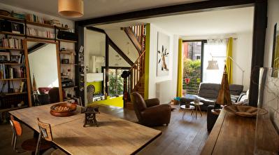 Maison Saint Ouen Sur Seine 5 pieces 120 m2