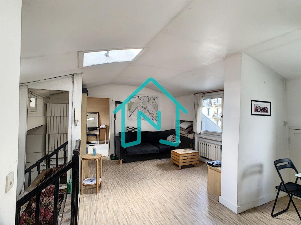 Dernier étage 2 pièce(s) 48m².pondéré