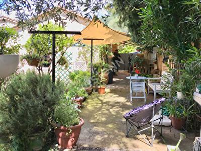 Grasse saint mathieu Appartement rez de jardin 3p 60 m2