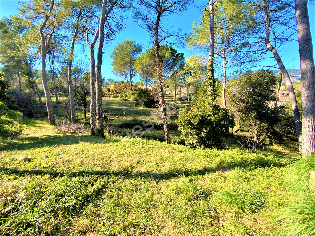 Terrain constructible plat à Peymeinade 1300 m2