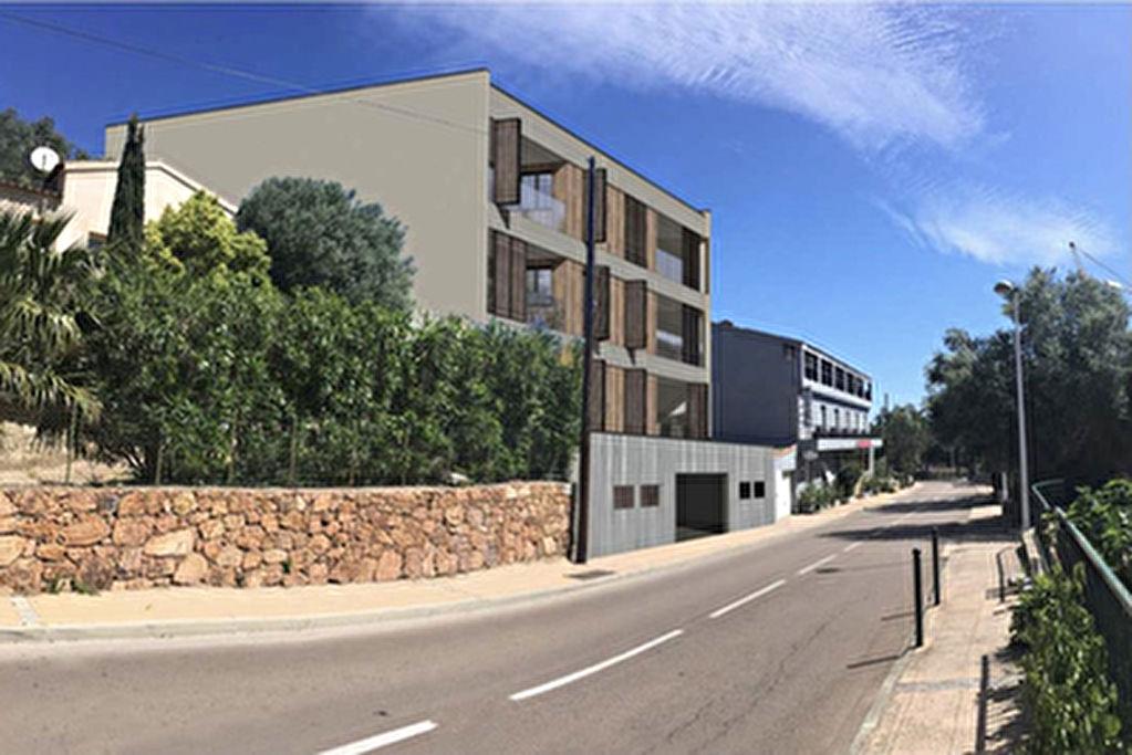 Appartement T3 vue mer dans residence neuve