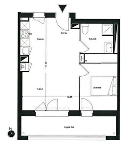 Eligible PINEL - Appartement T2 - Saint-Medard-En-Jalles