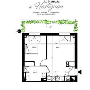 Eligible Pinel Appartement T2 Saint Medard en Jalles