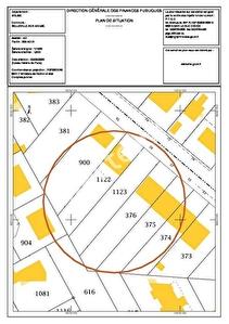 A vendre terrain constructible Belleville Sur Meuse 520 m2