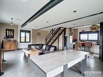 Vente maison contemporaine de plain-pied, 3 chambres, a 10 minutes de Condom