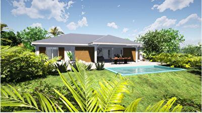 LAMENTIN : maison neuve 4 pieces en vente avec piscine