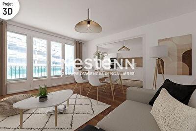 Paris 18e : Appartement de 3 pieces avec balcon