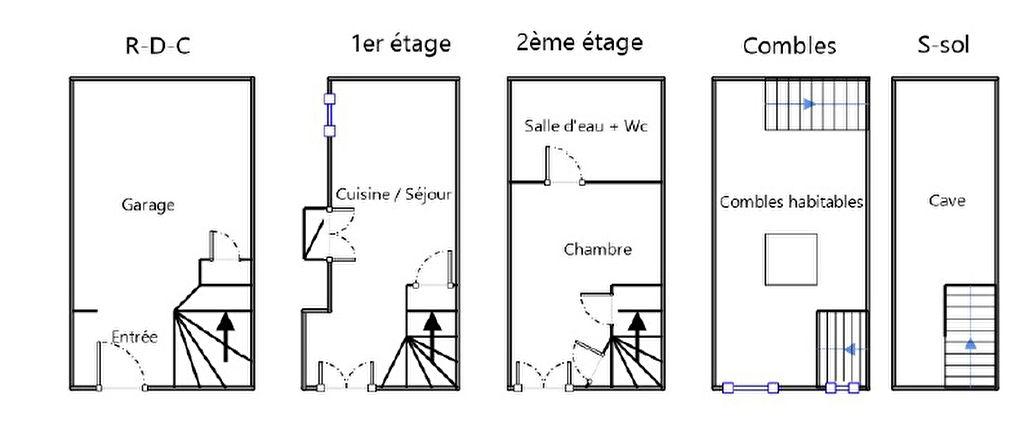 Maison de Village T2-3 Trets