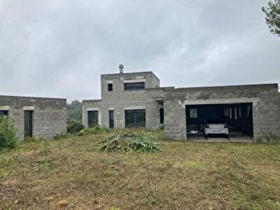Projet en cours maison contemporaine Eyzin Pinet 4 pieces 200 m2