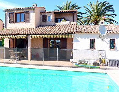 EXCLUSIVITE Villa Antibes 4 pieces 80 m2 + piscine + garage + parking + vue mer