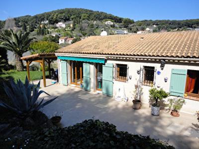 Maison Vallauris 4 pieces au calme et environnement verdoyant