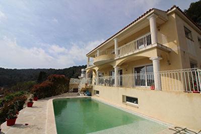 Villa Vallauris 230m2 vue panoramique piscine sous-sol 170m2