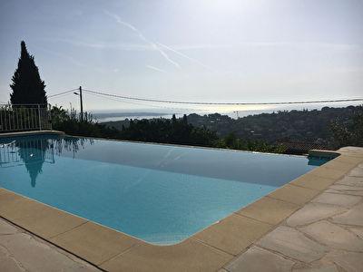 Maison Vallauris 6 pieces 180m2 piscine garage appartement independant