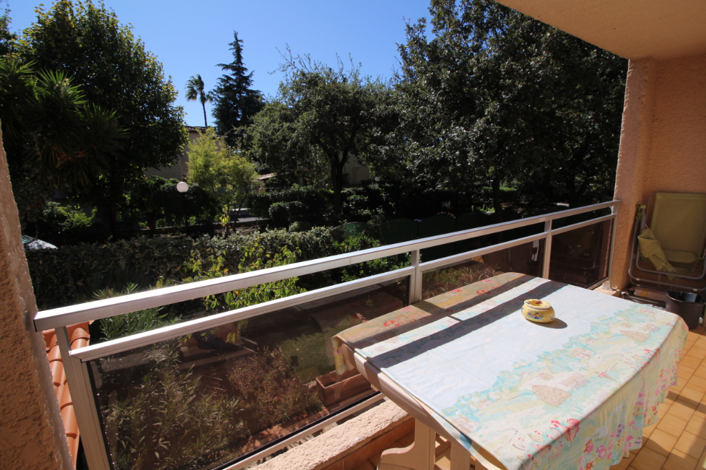 Appartement Antibes 3 pièces 65m² vue verdure calme cave
