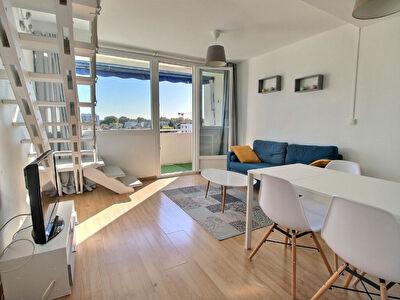 Appartement T2 bis en mezzanine