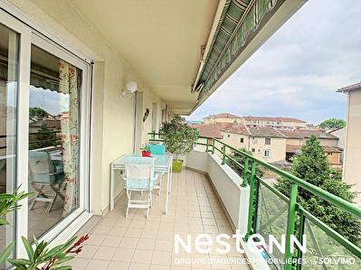 Appartement 3 Chs + Balcon + Gge - 69400 VILLEFRANCHE