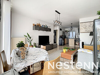 Appartement proche centre ville, 56 m2, 2 chambres + balcon