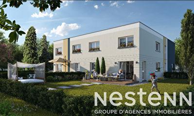Appartement en duplex, neuf , 92 m2, 3 chambres, jardin, terrasse et garage