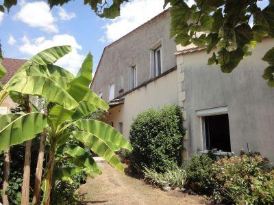Maison au Fleix de 160 m2 habitable + local commercial.