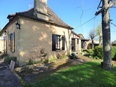 Charmante maison en pierre Lamonzie Saint Martin 4 pieces 102.68 m2