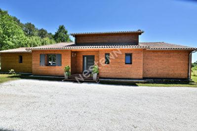 Maison recente ossature bois de plain pied a l'Est de Bergerac !