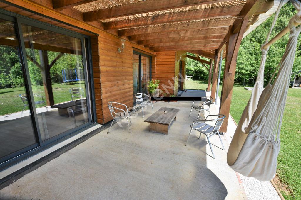 Maison récente ossature bois de plain pied à l'Est de Bergerac !