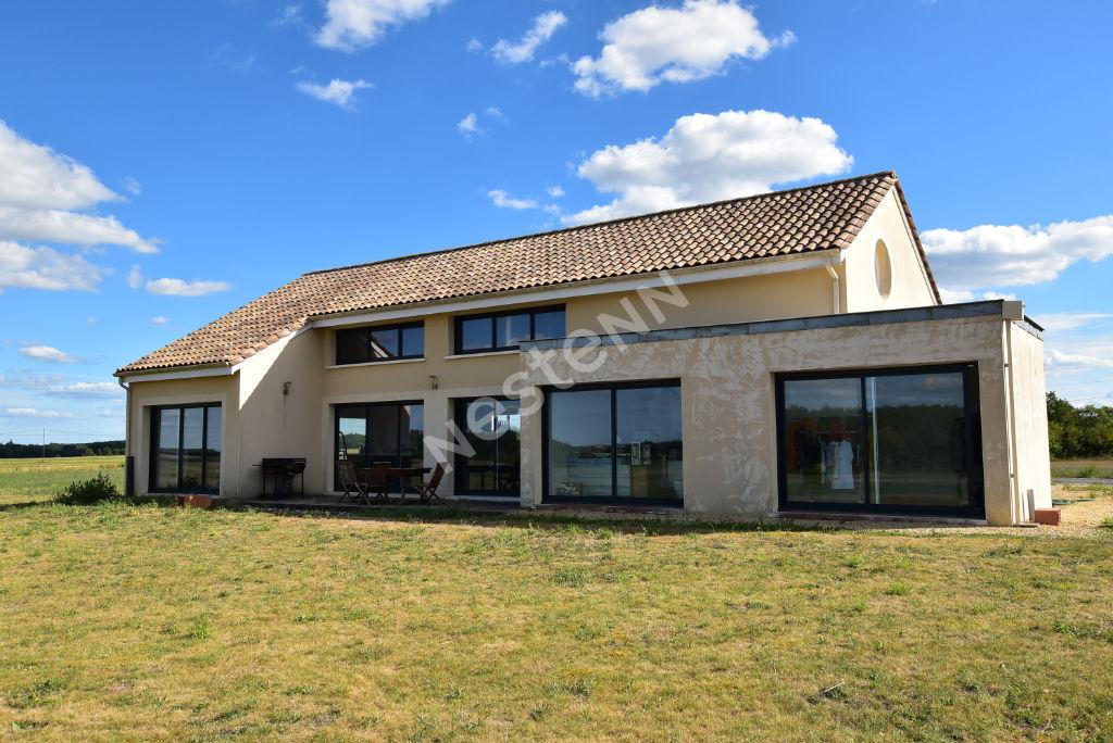 Maison contemporaine au calme à 14 kms au sud est de Monbazillac !