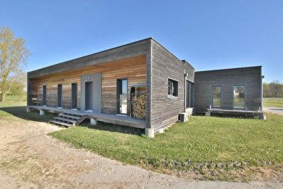 Magnifique maison d'architecte en bois !