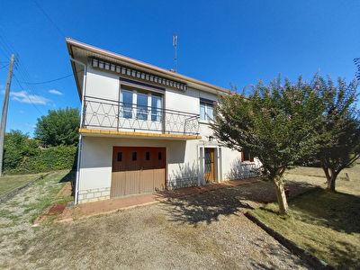 Maison sur sous sol dans un quartier residentiel de Bergerac !
