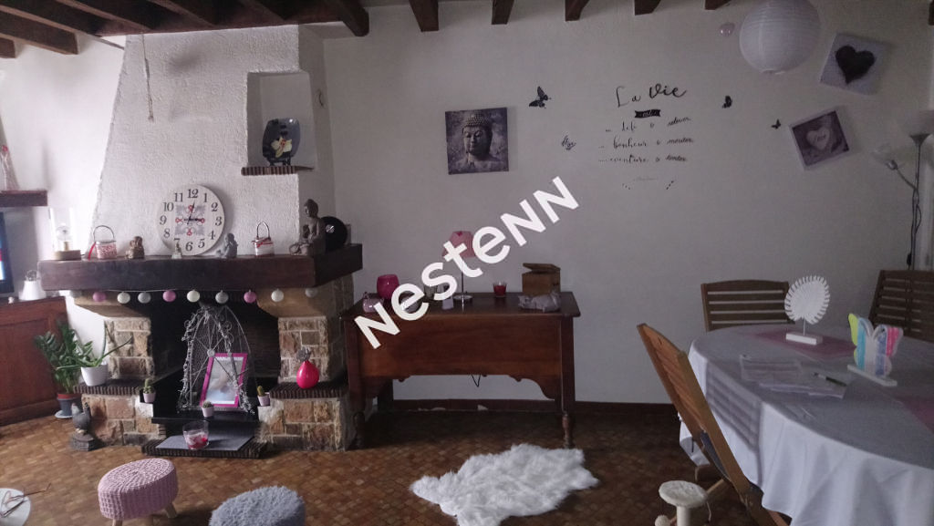 Maison Nord Ouest de Blois  5 pièces avec cour