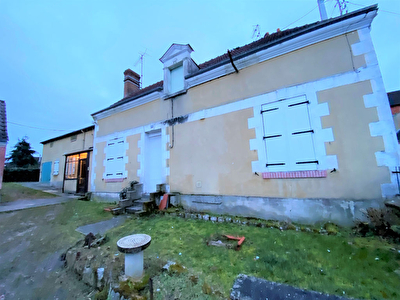 Maison en cours de renovation sur Romorantin