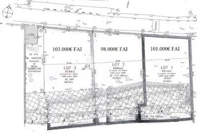 Terrain Constructible Etampes 610 m2