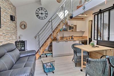 villa patio renovee port Capbreton 2 chambres -