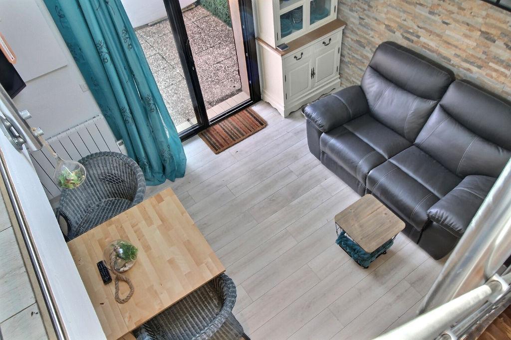 villa patio rénovée port Capbreton 2 chambres -