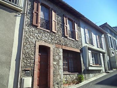 Maison  de village avec jardinet secteur Saint Girons