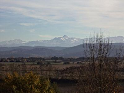 Vue Pyrenees exceptionnelle