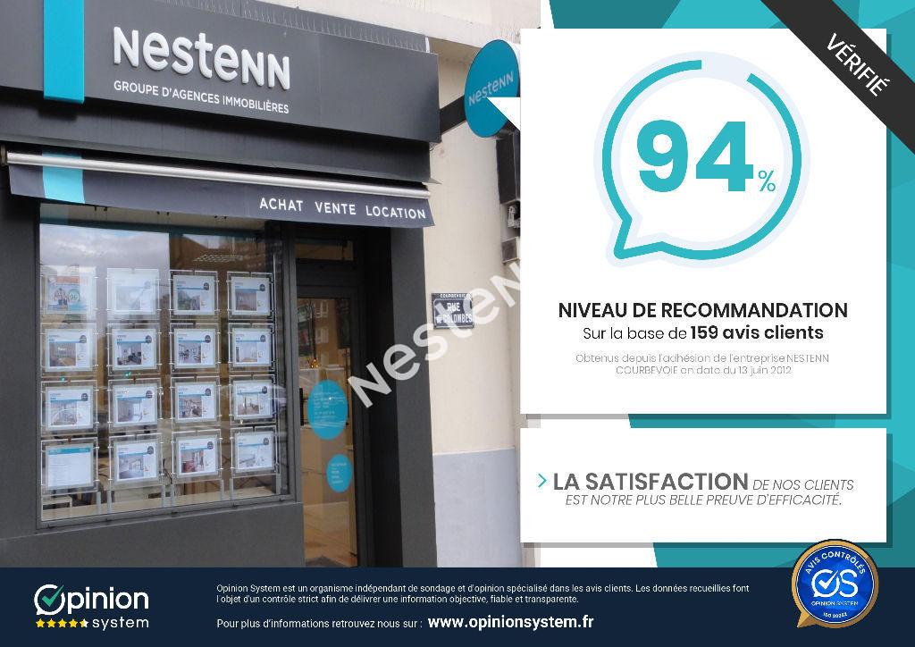 Appartement Courbevoie 4 pièce(s) 86.40 m2