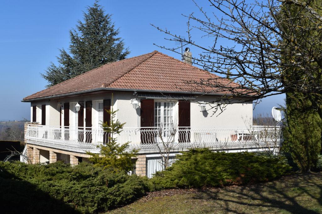 Maison Saint Chef 102 m² + App T2 de 25 m² - terrain 1500 m²