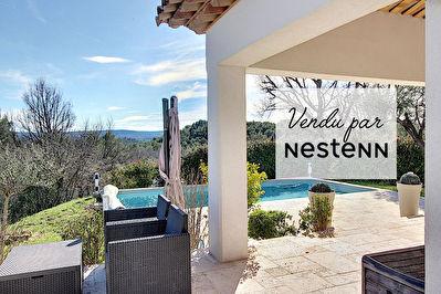 EXCLUSIVITE ! Villa de 120m2 avec piscine situee sur 2500m2 de terrain - VUE DOMINANTE