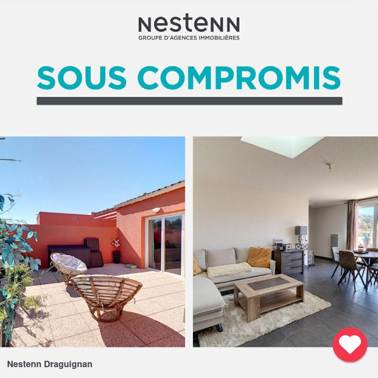 DRAGUIGNAN Appartement Dernier Étage 4 pièces 80 m² avec TERRASSE de 46 m²