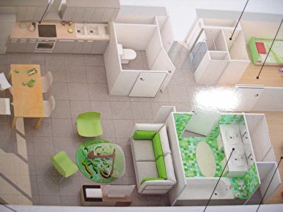 APPARTEMENT BEAUZELLE - 3 pieces - 60 m2