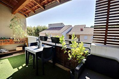 Appartement Meyreuil 3 pieces 60.43 m2 terrasse 12m2