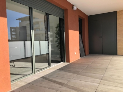 Aix En Provence-Appartement neuf 3 pieces 63.71 m2 avec  grande terrasse.