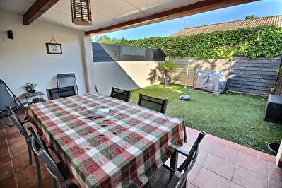 Marignane -Maison de type 4 d'env. 100.78 m2 + jardin +garage