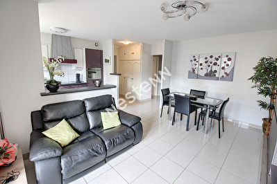 Talange - appartement F3 - 2 chambres - 59.35 m2