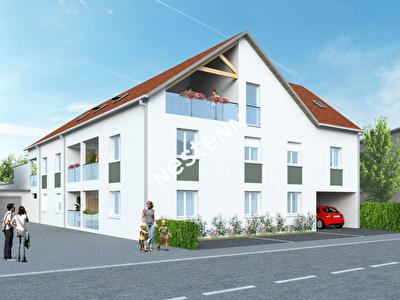Appartement neuf  T2 de 42 m2 Residence INDIRA a ELANGE