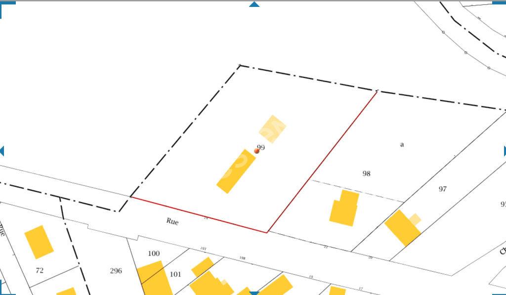 Terrain de 3935 m2 à vendre àThiaucourt Regneville.