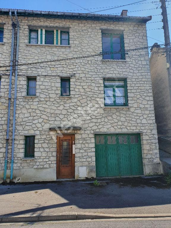 Maison LAON 86m² 5 pièces trois chambres travaux garage terrain