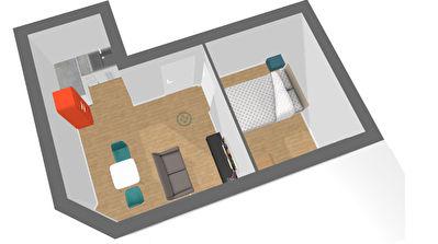Appartement  1 piece 35.40 m2 terrasse